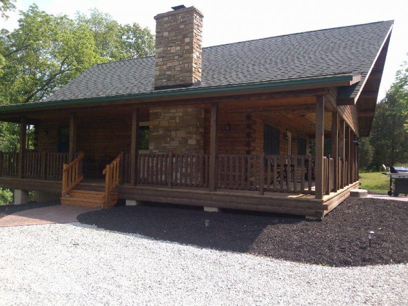 Dreams End Log Cabin Vacation Rentals Franklin County